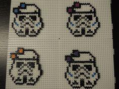 Sturmtrupp Mädchen Star Wars Bügelperlen Perler Beads