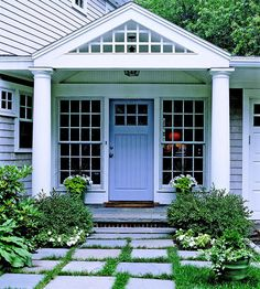 love the windows & the path. i need something to plant in between my pavers that will grow in shade!
