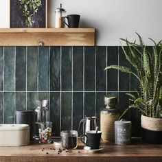 Home Decor Kitchen, Interior Design Kitchen, New Kitchen, Home Kitchens, Küchen Design, House Design, Style Deco, Kitchen Tiles, Kitchen Remodel
