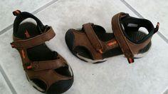 TEVA Kids Boys Brown/Orange Sz 9 Toachi 3 Sandals Water Shoes EUC Velcro Straps #Teva #SandalsWaterShoes
