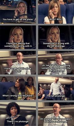 The Dean from Community was on the Plane when Rachel was going to Europe!!! #Friends #Community