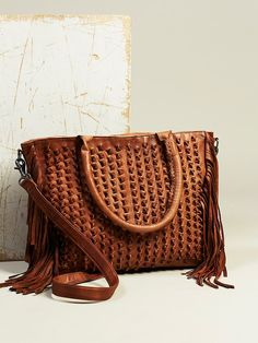 Day and Mood Lily Fringe Satchel at Free People Clothing Boutique