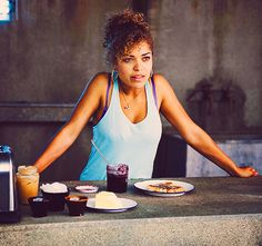 Antonia Thomas as Alisha Bailey on MISFITS