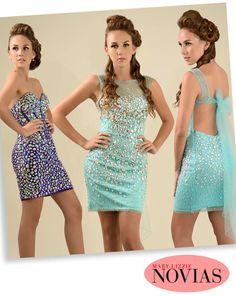Lindos vestidos entallados para  las damitas que desean destacar su lado sexy