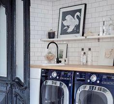 Nestes 25 ambientes, azulejos, cores, plantas e tapetes ajudam a trazem personalidade à lavanderia.