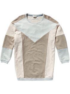4b55a834c2e61 Sweat-shirt ample Maison Scotch, Pull Lâche, Coup De Foudre, Vêtements  Femmes