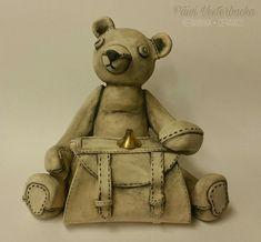 Ceramic Art, Teddy Bear, Ceramics, Toys, Animals, Ceramica, Activity Toys, Pottery, Animales