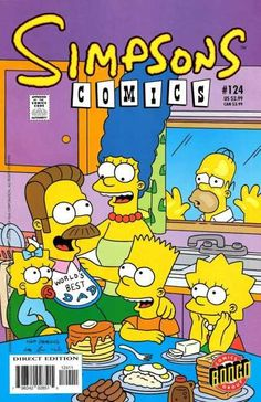 Marge, Bart, Lisa and Maggie elect Ned Flanders as the member of the Simpson family, Homer looked at them in surprise, but they tried to cheer him up. Vintage Disney Posters, Vintage Cartoon, Vintage Comics, Bedroom Wall Collage, Photo Wall Collage, Poster Wall, Poster Prints, Japanese Poster Design, Canvas Art Quotes