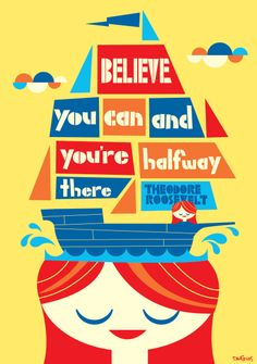 """""""Believe you can and you're halfway there."""" Theodore Roosevelt #quote #poster #classroomdecor #inspiration #believe Classroom Charts, Classroom Quotes, Teaching Quotes, Education Quotes, Classroom Supplies, Classroom Decor, Leader In Me, Teaching Materials, Quotes For Kids"""