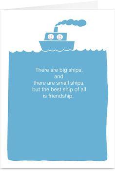 Friendship Drinking Friendship Card