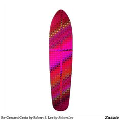 Re-Created Croix by Robert S. Lee Skateboard Decks #love #Scripture #Bible #Jesus #Christ #Lord #God #Robert #S. #Lee #cross #skateboard #board #decks #skater #design #colors #customizable #re-created