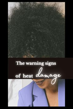 Heat damage can be devastating. There is little else worse than ruining your curl pattern and drying out your strands to the point of breakage. Fortunately, there is something your can do about it and something you can do to prevent heat damage altogether. Click here to learn more! #heat #damage #hair #natural #product #repair #diy #tips #regimen #routine #fix Long Natural Hair, Natural Hair Journey, Natural Hair Styles, Home Remedies For Hair, Curl Pattern, Heat Damage, Great Hairstyles, Deep Conditioner