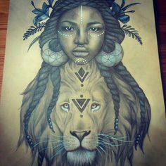 image result for african queen tattoo tattoos pinterest rh pinterest com african queen tattoos designs african queen tattoo drawing