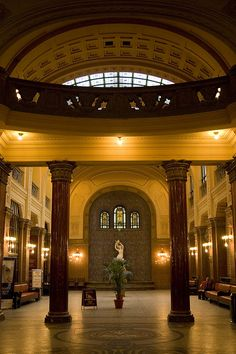 Gellért Bath's lobby (Photo by arabella via Flickr) #budapest #spa #hungary #thermal #europe #architecture Budapest Hungary, Budapest Spa, Budapest Thermal Baths, Heart Of Europe, Central Europe, Travel Bugs, Capital City, Amazing Architecture, Spas