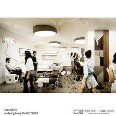 CORFONE+PARTNERS - Interior design Living Room - DEKA HOUSE