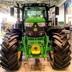 There's something so sexy about tractors :) #johndeere #IOT #Technology #CeBIT2016 #connectedeverywhere by aki321