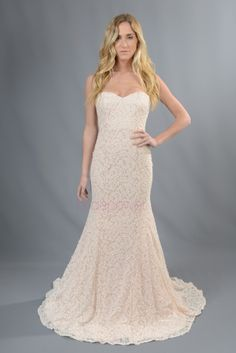 VOWS Bridal offers a curated collection of designer special order wedding gowns and off the rack wedding dress samples. Designer Wedding Dresses, Wedding Gowns, Vows Bridal, Plus Size Gowns, Trumpet, Bride, Chapel Train, Neckline, Floral