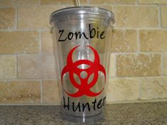 Zombie Hunter cup - perfect for that man in your life who loves his zombie movies! Click the pic for more info.  $12.00