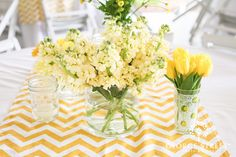 #chevron table runners | www.georgestreetphoto.com