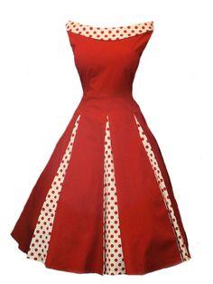 Vintage classique polka dot tache 50's 60's balançoire. rockabilly, robe-Robe de soirée-Id du produit:1249489827-french.alibaba.com