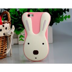 Le Sucre Cute Rabbit Silicone Back Case for iPhone 5 - iPhone Cases - Apple Cases - Mobile Accessories Free Shipping