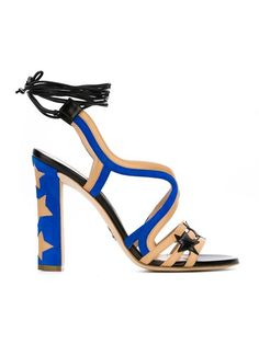 Shop Paula Cademartori 'Starry' sandals in Eraldo from the world's best independent boutiques at farfetch.com. Shop 300 boutiques at one address.