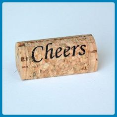 """Cheers"" Wine Cork Place Card Holder - Set of 25 - Venue and reception decor (*Amazon Partner-Link)"
