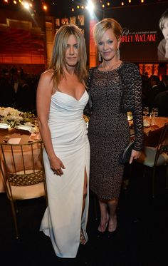 Jennifer Aniston Photos: 40th AFI Life Achievement Award Honoring Shirley MacLaine - Backstage And Audience