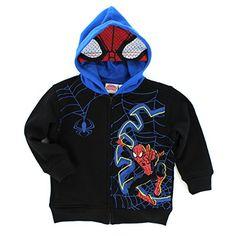 Spider-Man Toddler Hoodie Zip Up Sweatshirt (3T) Marvel http://www.amazon.com/dp/B00NO1WEQ0/ref=cm_sw_r_pi_dp_oRgiub0RANECE