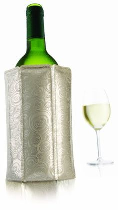Vacu Vin Rapid Ice Wine Cooler  Platinum -- Be sure to check out this awesome product.