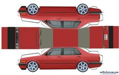 Printable Paper Cars Cutouts | Re: Paper Cut out Cars... (wonderman1000)