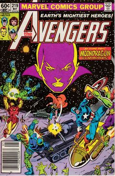 Avengers 219 May 1982 Issue  Marvel Comics  Grade by ViewObscura