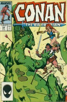 Cover for Conan the Barbarian (Marvel, 1970 series) Marvel Comic Books, Marvel Art, Marvel Comics, Conan O Barbaro, Conan The Destroyer, Conan The Conqueror, Conan Comics, Literary Characters, Conan The Barbarian