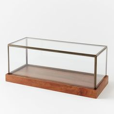 Wood + Glass Display Cases | west elm