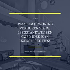 Serviced Apartments, Rental Apartments, Renting Out Your House, Apartment View, Sit Back And Relax, Utrecht, Rental Property, Property Management, Tours