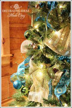 Christmas Tree Decorating Ideas Made Easy