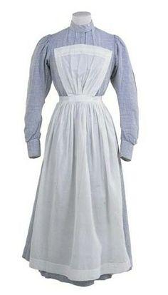 Edwardian servant's uniform