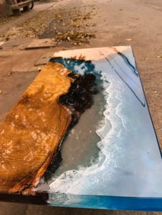 Items similar to Coffee table Epoxy table river table ocean table handmade beautiful table / dining table on Etsy Diy Resin Table, Epoxy Table Top, Epoxy Wood Table, Epoxy Resin Table, Resin Countertops, Wood Table Design, Resin Furniture, Etsy Furniture, Epoxy Resin Art