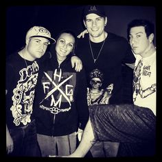 Ladies and Gentleman, the lovely dudes from Avenged Sevenfold.