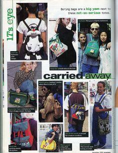 Seventeen Magazine, November 1995, via Flickr.