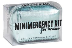 Wedding day bridal emergency kit! Awesome idea. My sister is making me one. :)