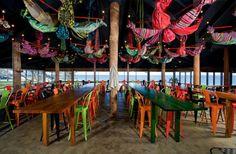 Clancy´s Fishbar city beach, chiringuito playero Paul Burnham, Perth, Australia