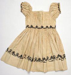 Ensemble    Date:      1860–65  Culture:      American  Medium:      cotton