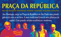 Pop Art Fredo Lima: Grande Feira de Artes Plásticas da Praça da Repúbl...