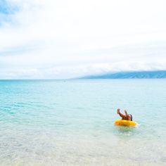 Still summer here in Hawaii...wait it's winter. Same same #luckywelivehawaii... I wish