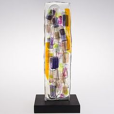 Glass Design, Design Art, Contemporary Artists, Modern Contemporary, Art Nouveau, Art Deco, 49er, Fused Glass Art, Famous Artists