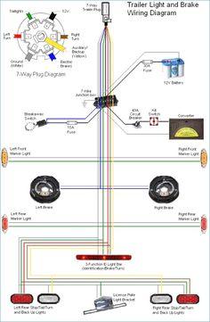caravan electric brakes wiring diagram 240 volt thermostat 63 best trailer images in 2019 build new 7 pin unique free car