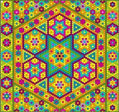 The Great Hexagon Quilt - Along - I REALLY want to make this!!