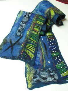 Andrea Graham - felt scarf