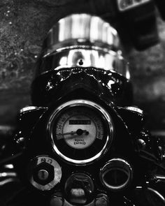 Royal enfield Bullet - Made like gun 350 classic Black and white Motorcycle Bike Ride Kolhapur. India . headlight